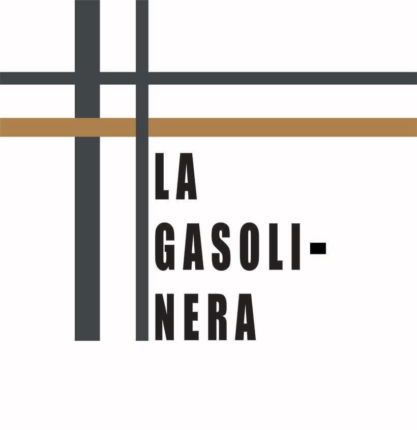 """""""LA GASOLINERA"""" LOGO PROJECT 0"""