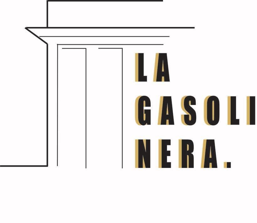 """""""LA GASOLINERA"""" LOGO PROJECT 1"""
