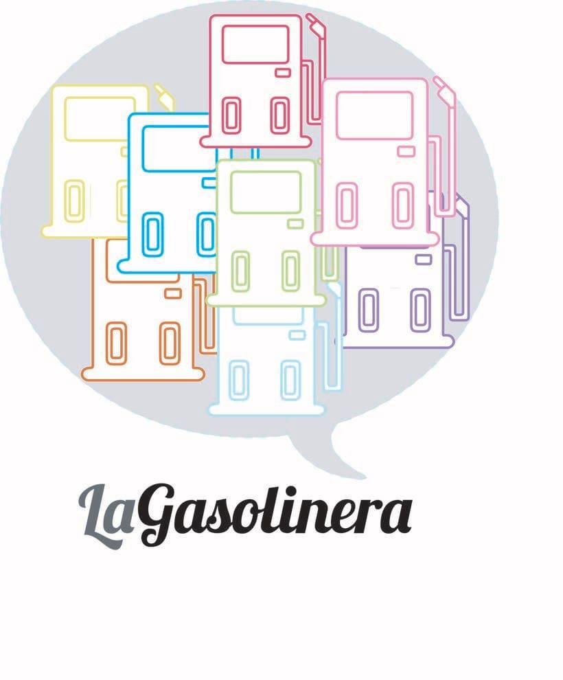 """""""LA GASOLINERA"""" LOGO PROJECT 2"""