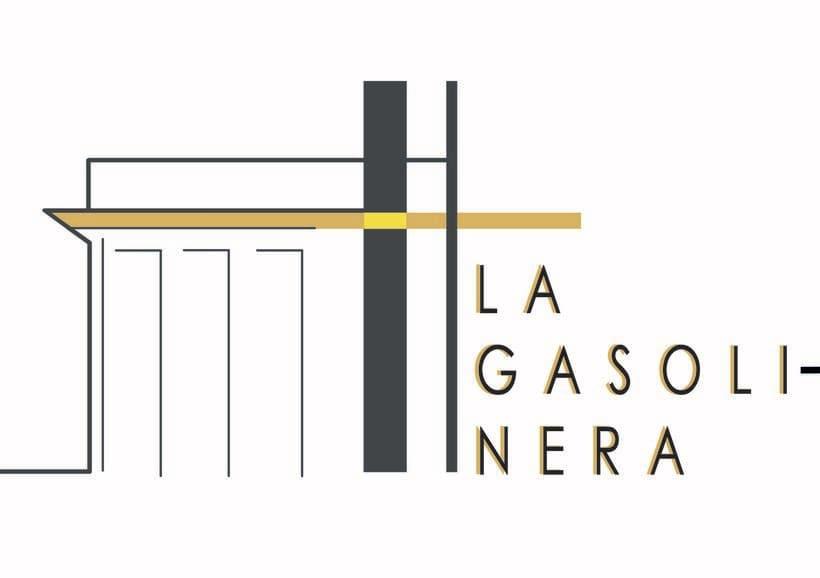 """""""LA GASOLINERA"""" LOGO PROJECT 3"""