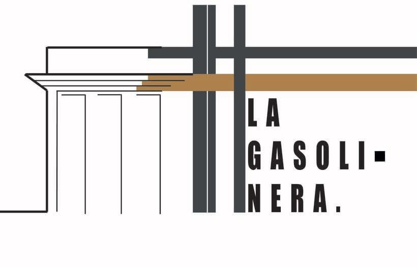 """""""LA GASOLINERA"""" LOGO PROJECT 4"""