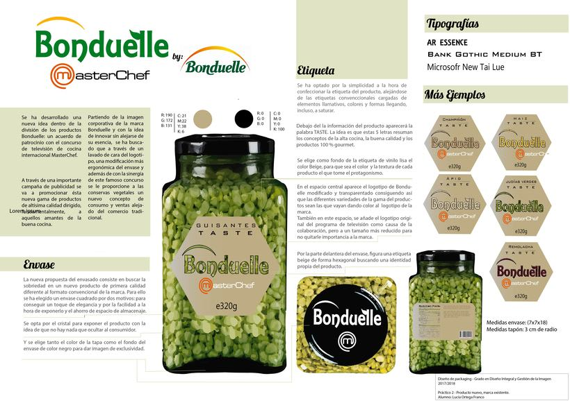 PACKAGING´S RE-DESING: BONDUELLE  0