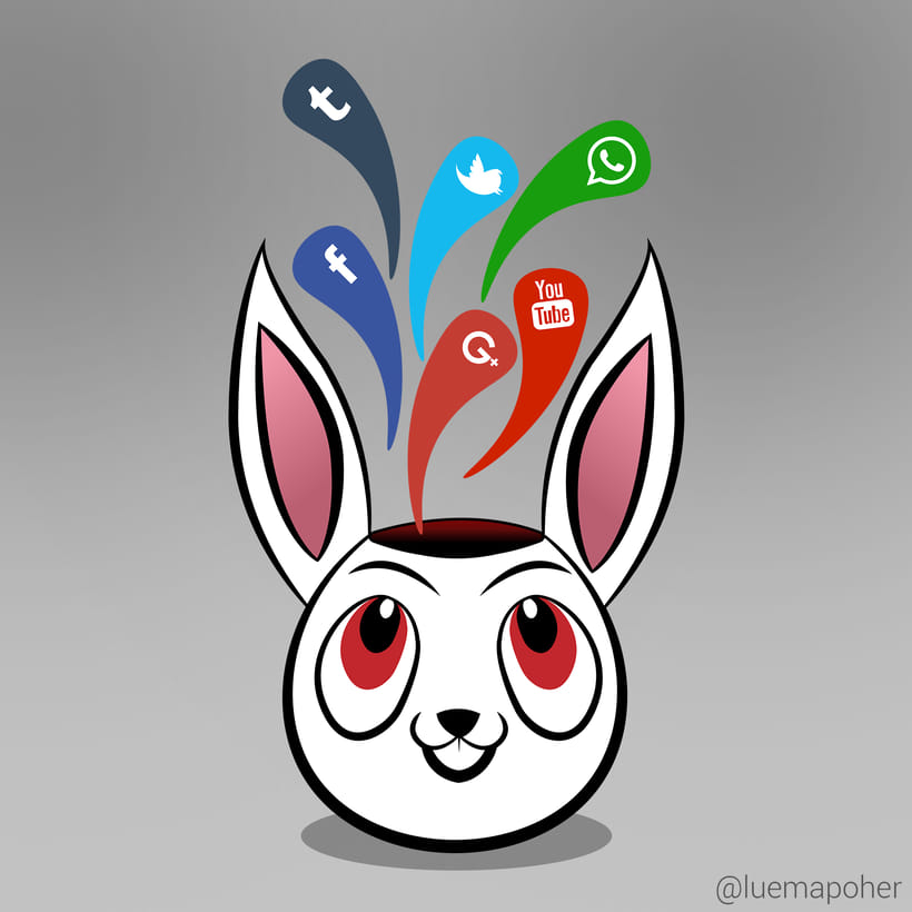 Social Rabbit -1