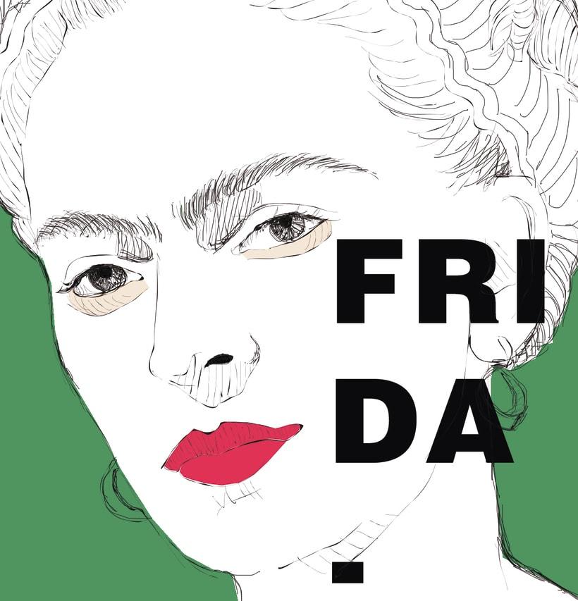 ilustración Frida -1