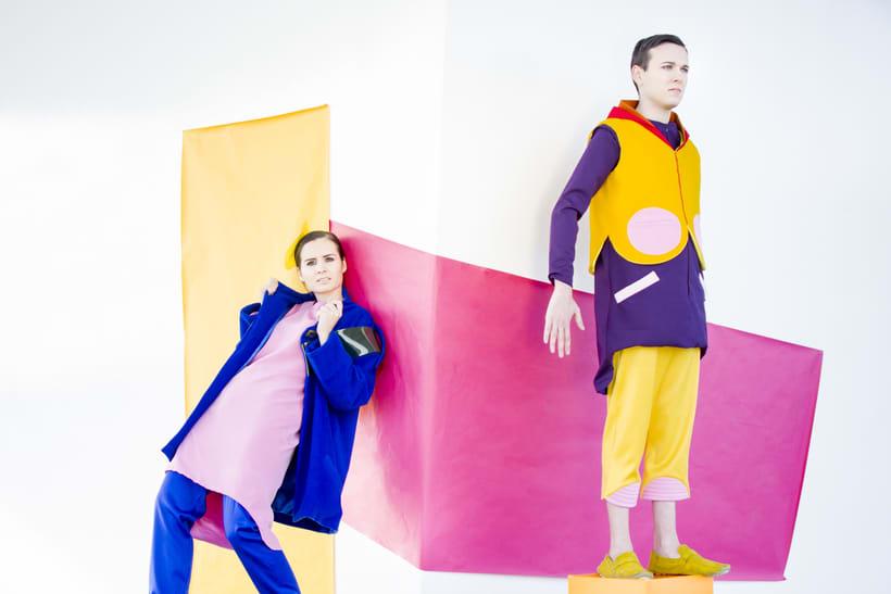 VISIONA  colección de autor, inspirada en el Pop Art de los interiores de Verner Panton, utilizando  los colores vivos y formas geométricas puras con las cuales creaba sus interiores. 6