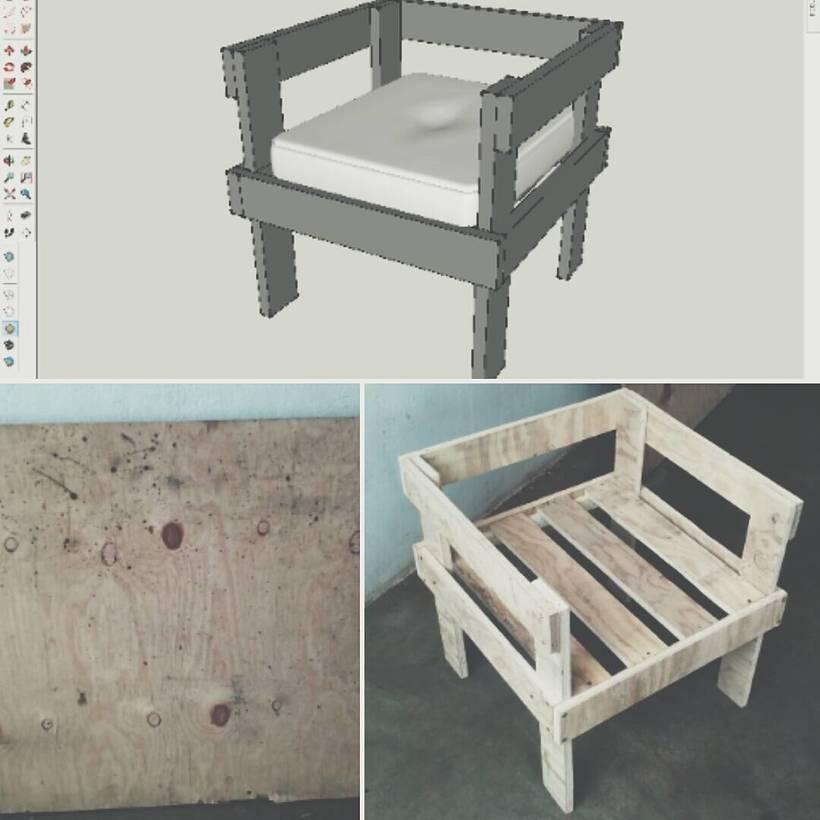 Mueble para exterior :D (Diseño-Materia Prima-Producto Final) -1