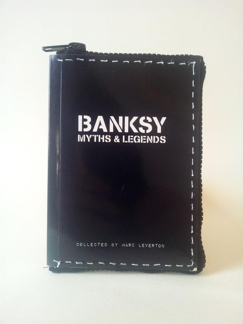 Banksy (2016. Libro de artista, libro intervenido) 0