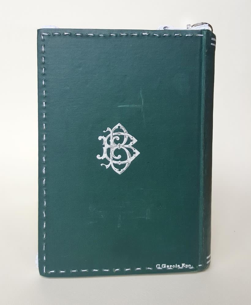 Manual del recién casado 1911 (2016. Libro de artista, libro intervenido) 3