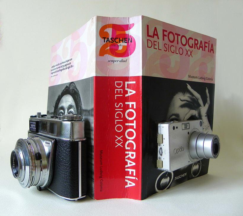 Fotografía del siglo XX (2015. Libro de artista, libro intervenido) 1