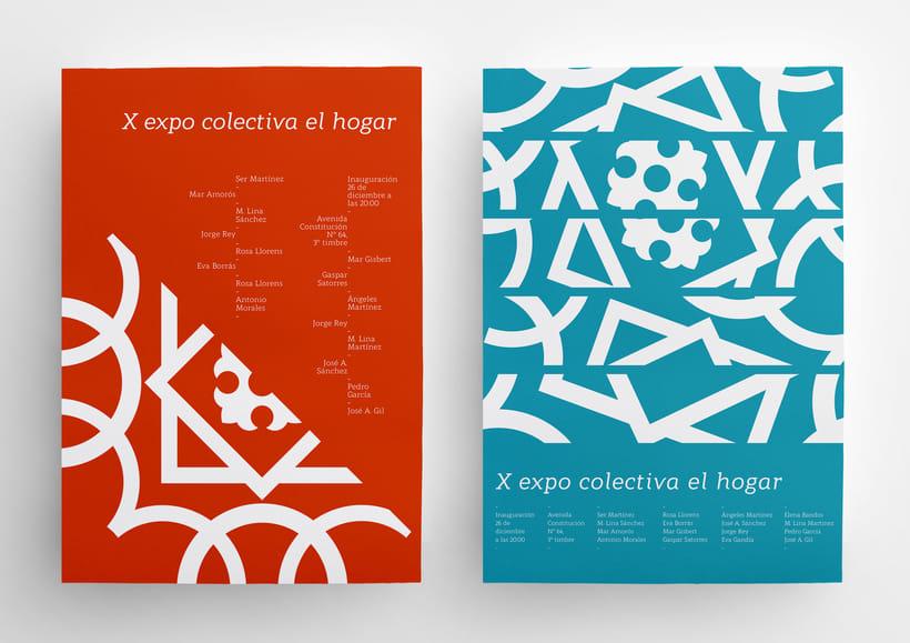 X Expo colectiva El Hogar 1