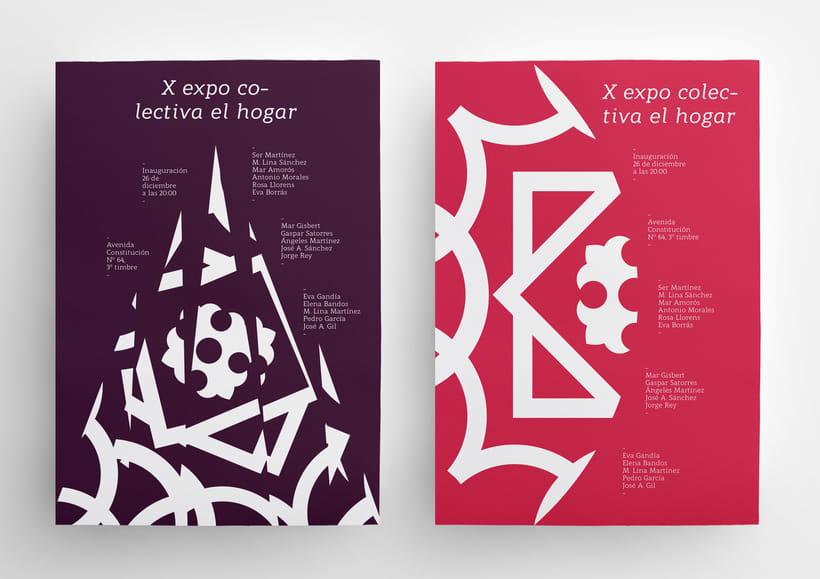 X Expo colectiva El Hogar 3