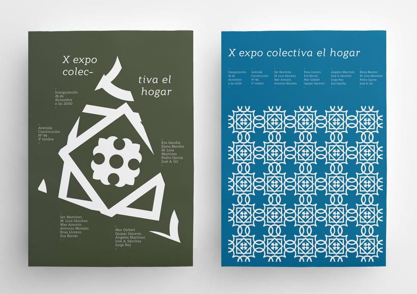 X Expo colectiva El Hogar 5