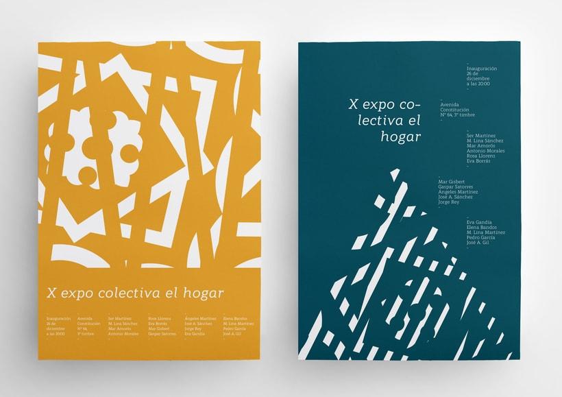 X Expo colectiva El Hogar 6