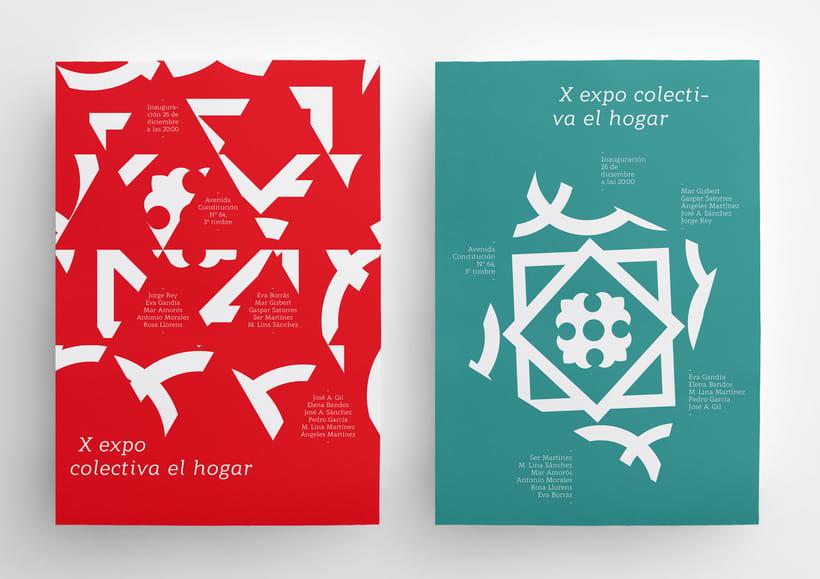 X Expo colectiva El Hogar 7