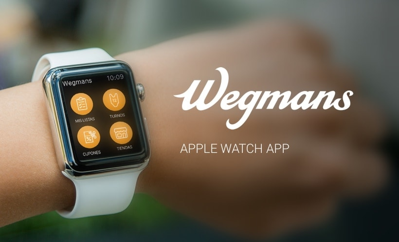 Wegmans Apple Watch App propuesta -1