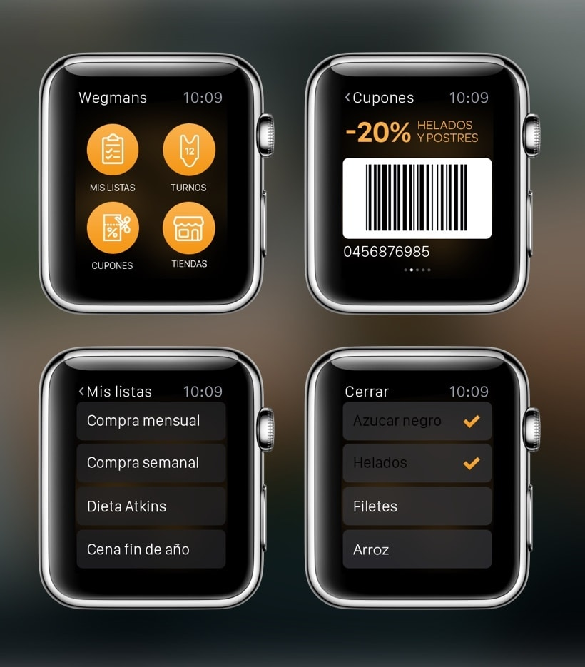 Wegmans Apple Watch App propuesta 0