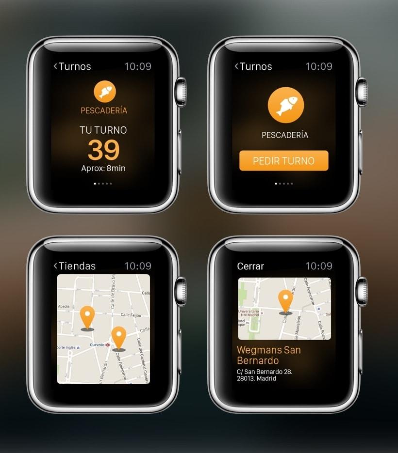 Wegmans Apple Watch App propuesta 1
