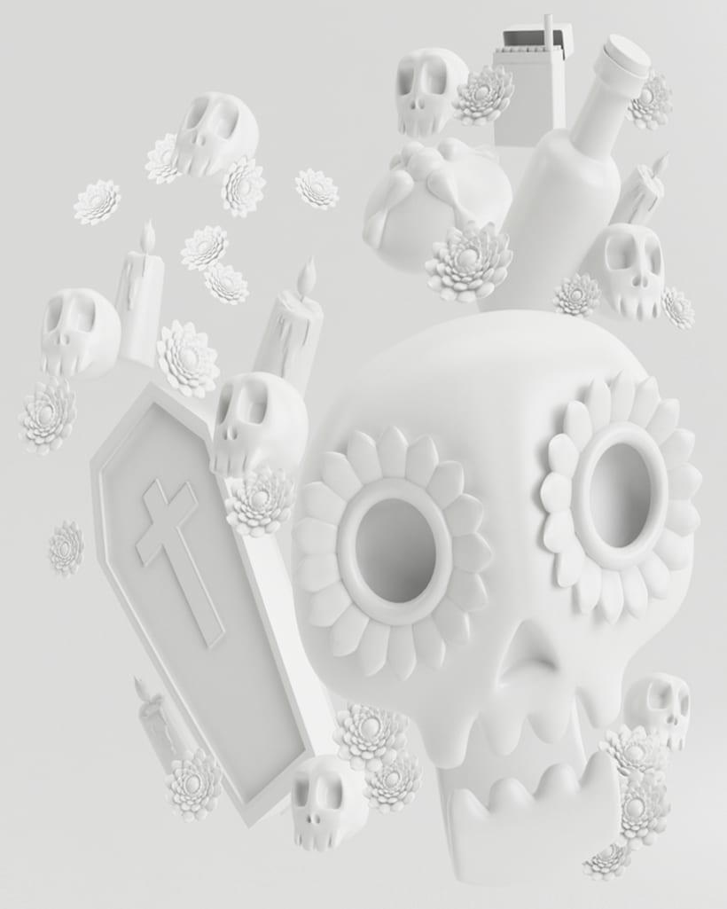 Mi Proyecto del curso: Diseño de personajes en Cinema 4D: del boceto a la impresión 3D 1
