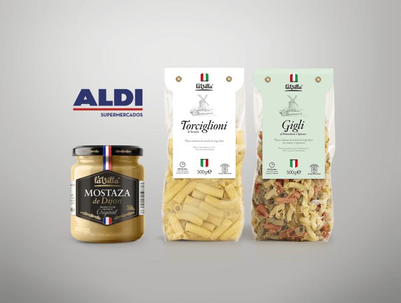 Diseño de packaging para Aldi Supermercados -1