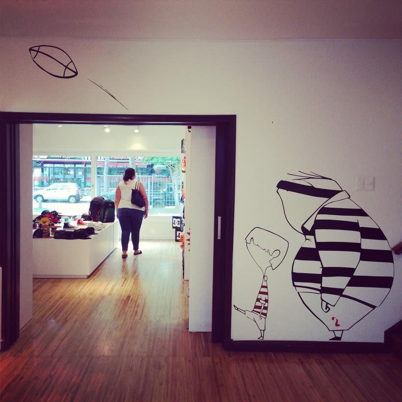 Ilustraciones para tienda de ropa deportiva -1