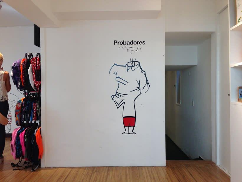 Ilustraciones para tienda de ropa deportiva 0