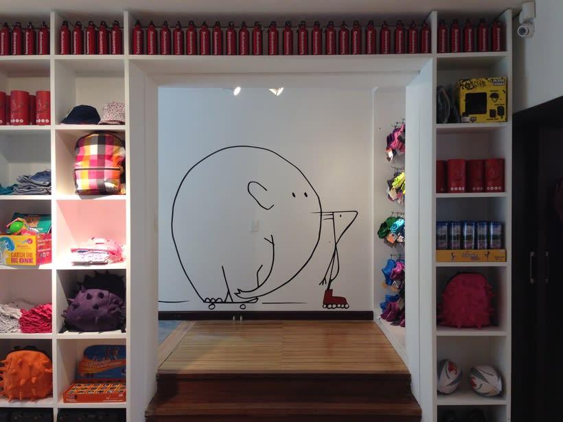 Ilustraciones para tienda de ropa deportiva 1