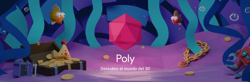Poly: el catálogo de objetos 3D libres de Google 1
