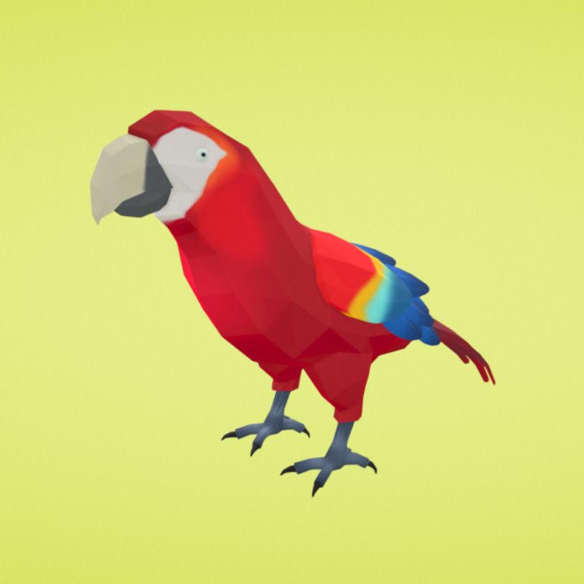 Poly: el catálogo de objetos 3D libres de Google 8