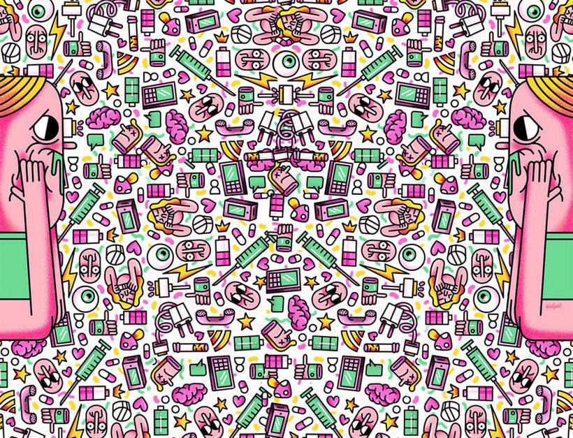 El loco mundo del pattern design 17