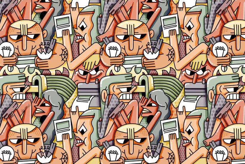 El loco mundo del pattern design 23