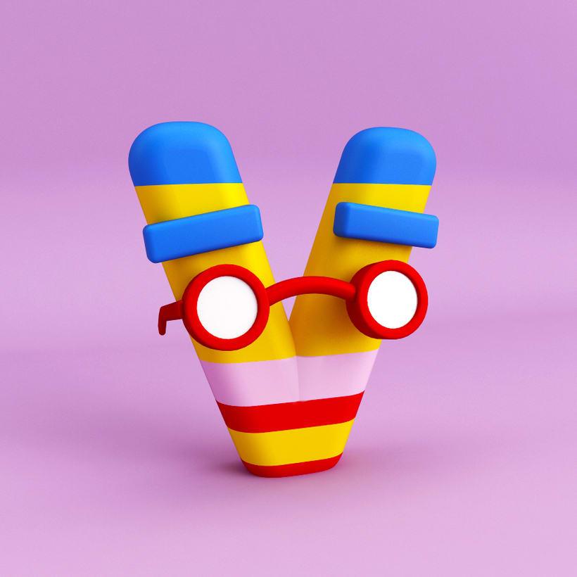 Mi Proyecto del curso: Diseño de personajes en Cinema 4D: del boceto a la impresión 3D 13