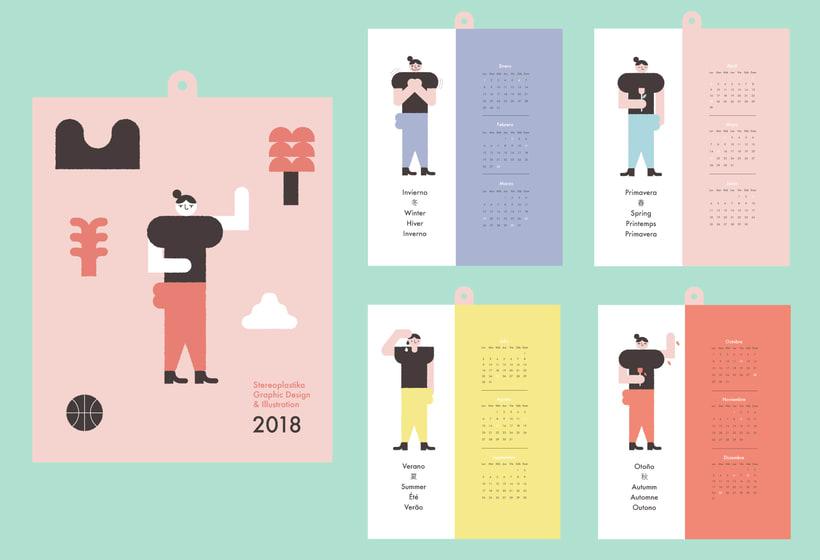 Calendario 2018  0