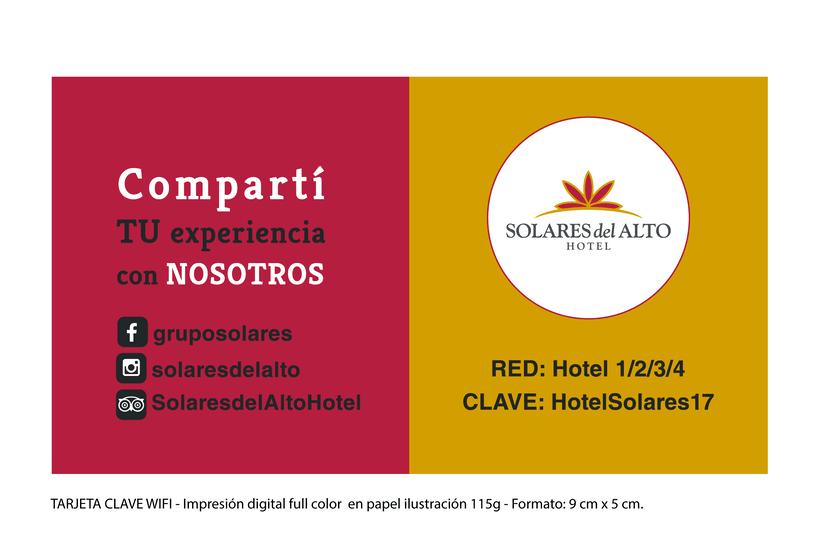 Comunicación Visual en Solares del Alto Hotel  1