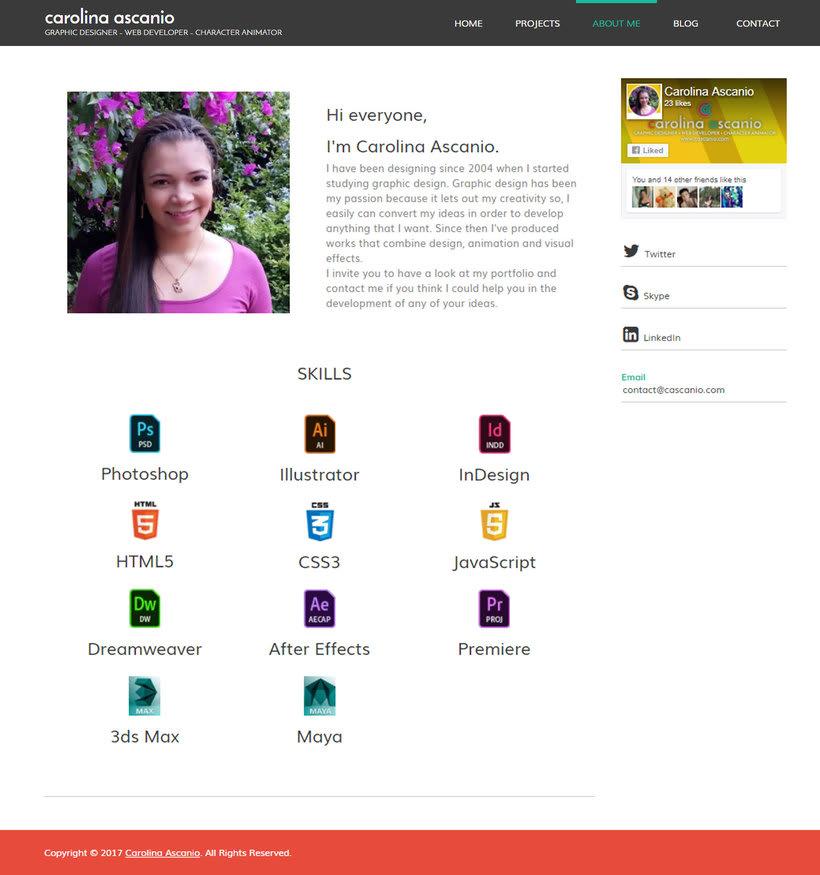 Mi Proyecto del curso: Creación de una web profesional con WordPress 2