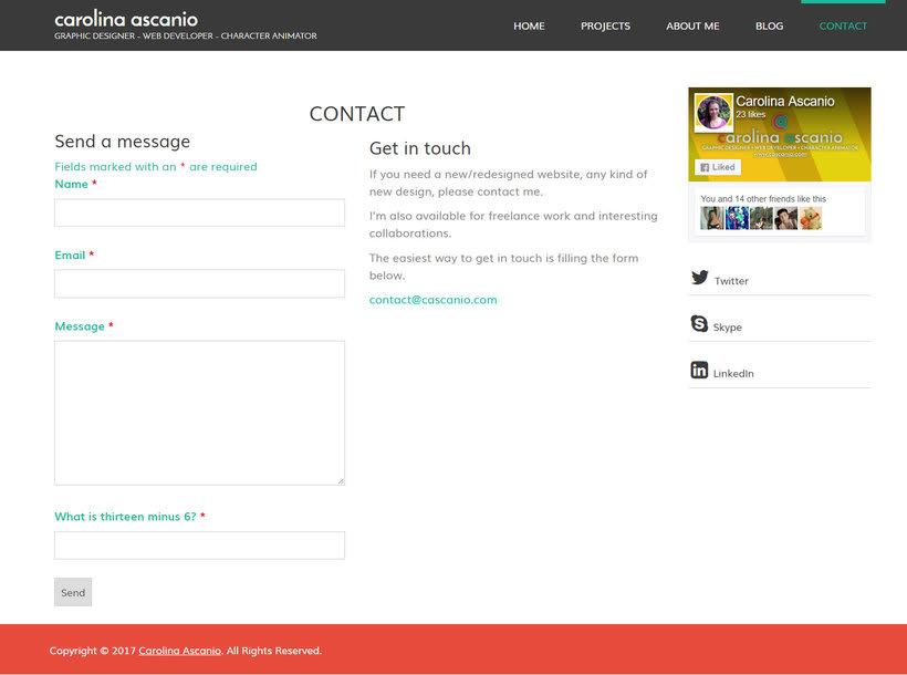 Mi Proyecto del curso: Creación de una web profesional con WordPress 4