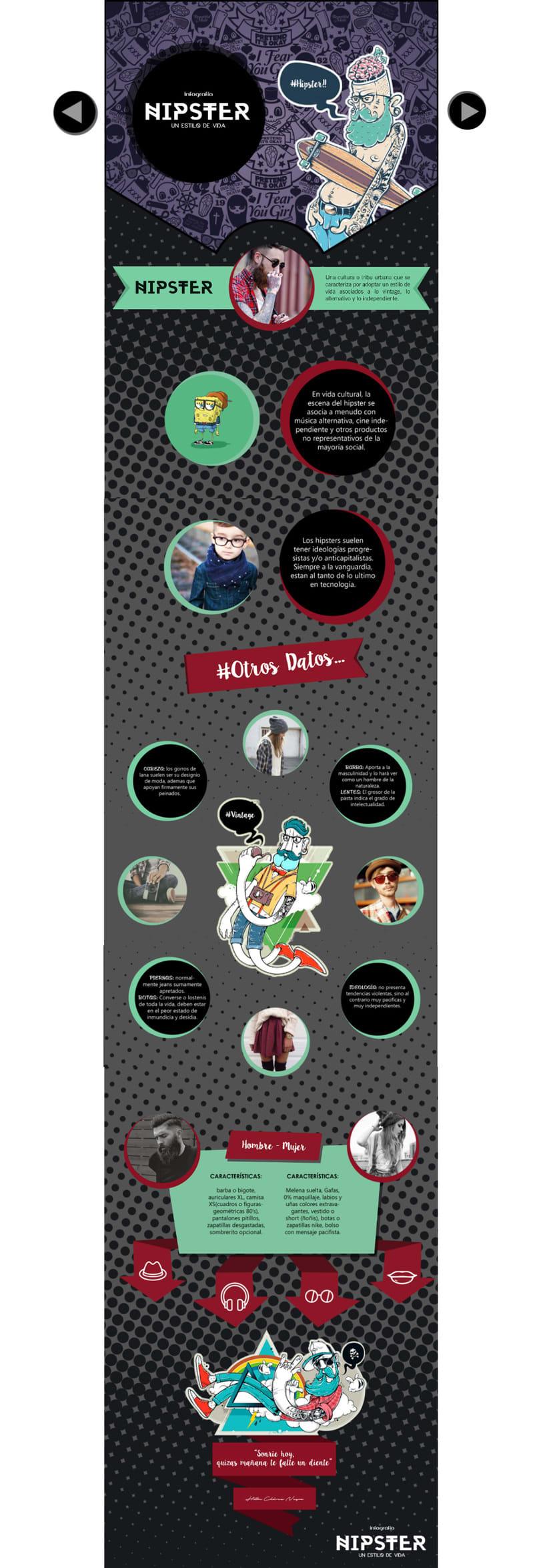 #CulturaHipster (Infografía animada) 1