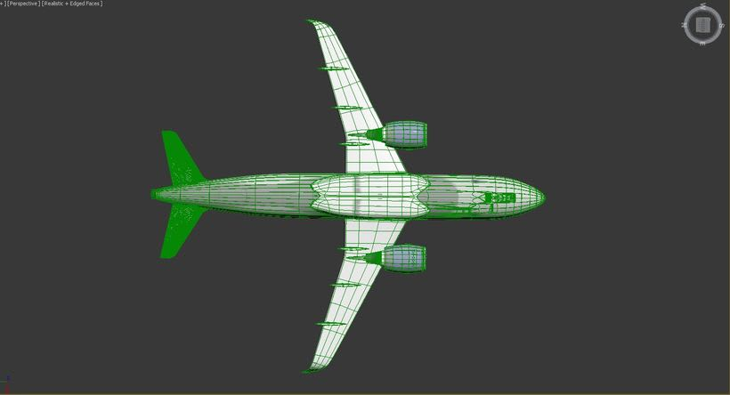 Interjet - Low poly airplanes 11