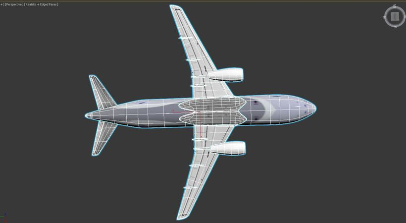 Interjet - Low poly airplanes 13