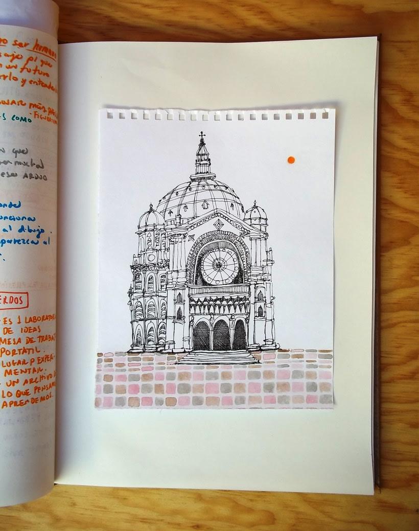 Páginas del cuaderno creativo 5. 3