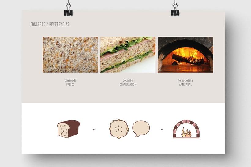 Soy un trozo de pan: Naming & Packaging Design 2