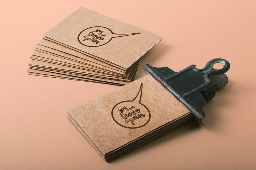 Soy un trozo de pan: Naming & Packaging Design 0