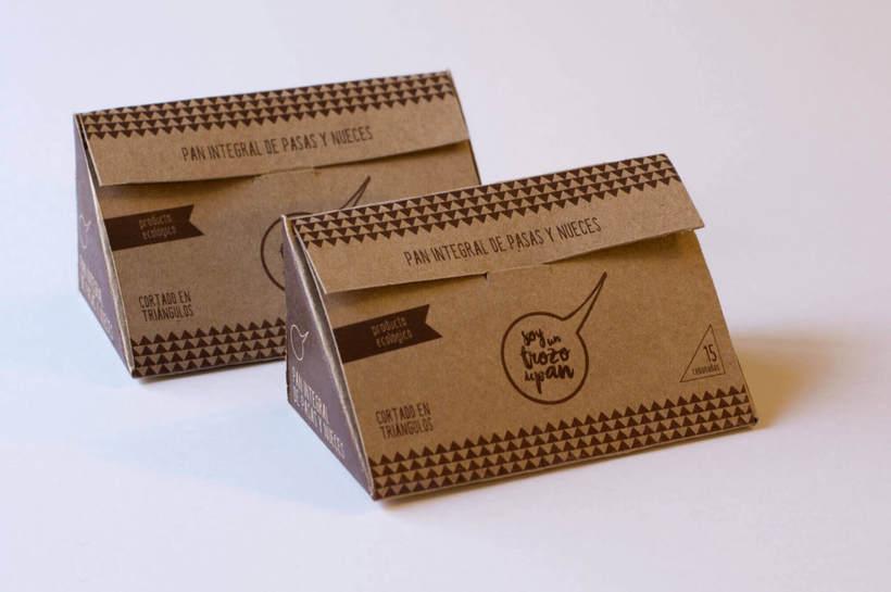 Soy un trozo de pan: Naming & Packaging Design 4