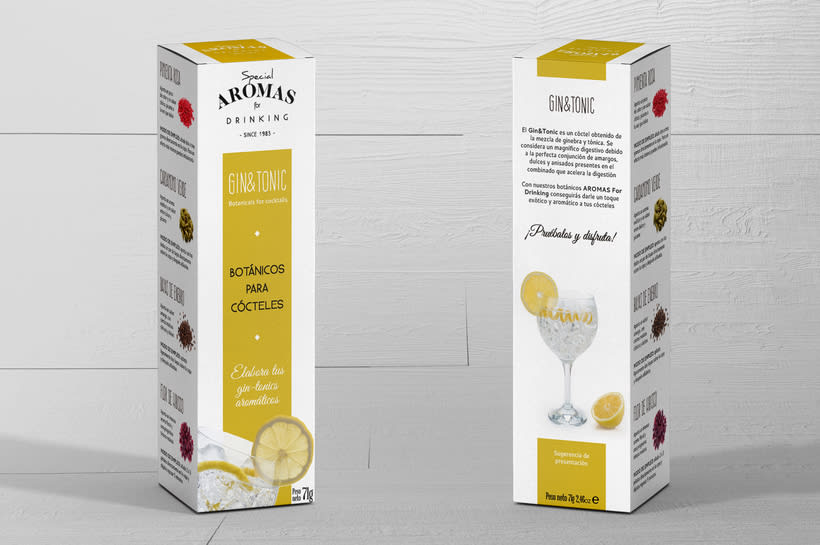 Aromas for Drinking: Naming & Packaging Design 5