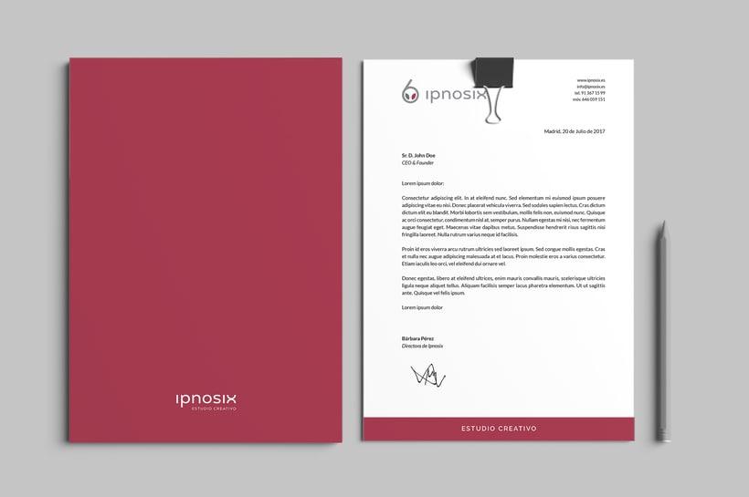 Ipnosix: Naming, Branding & Responsive Website 6