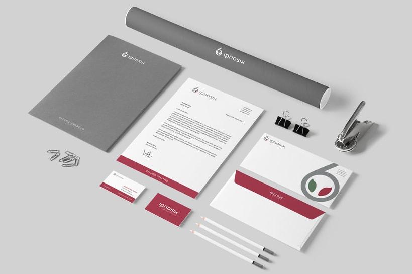 Ipnosix: Naming, Branding & Responsive Website 4