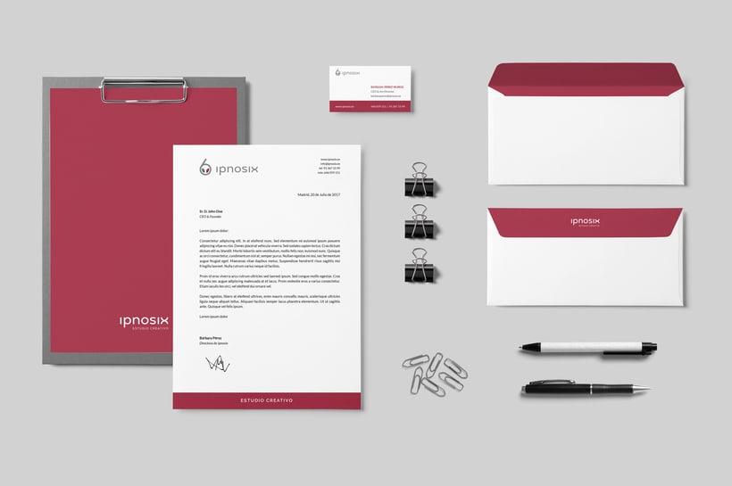 Ipnosix: Naming, Branding & Responsive Website 5
