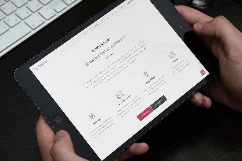 Ipnosix: Naming, Branding & Responsive Website 11