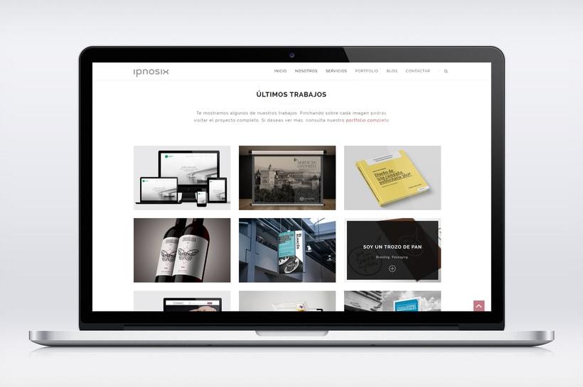 Ipnosix: Naming, Branding & Responsive Website 12