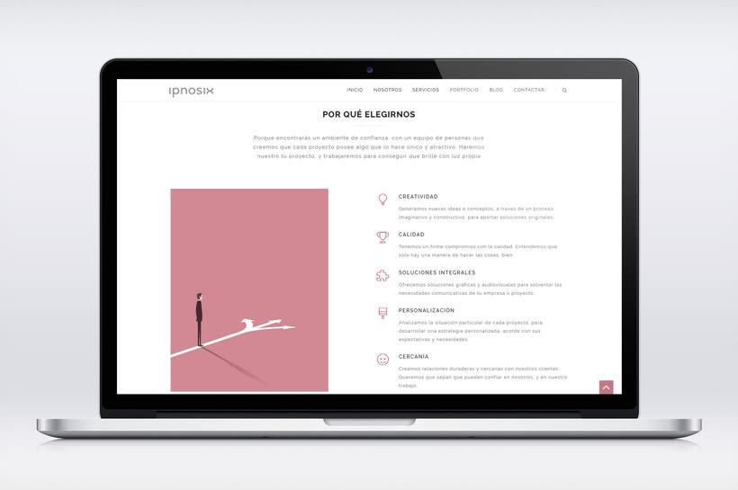 Ipnosix: Naming, Branding & Responsive Website 14