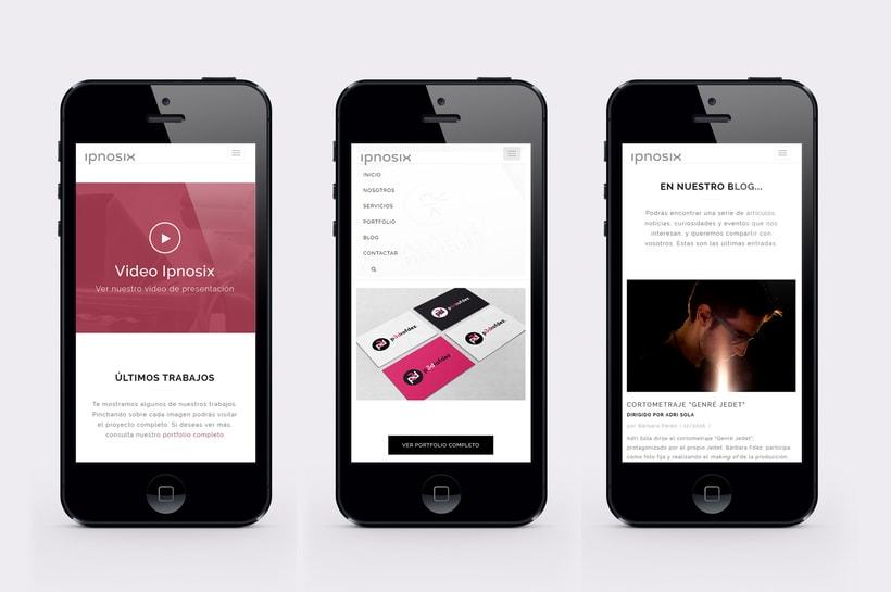 Ipnosix: Naming, Branding & Responsive Website 16